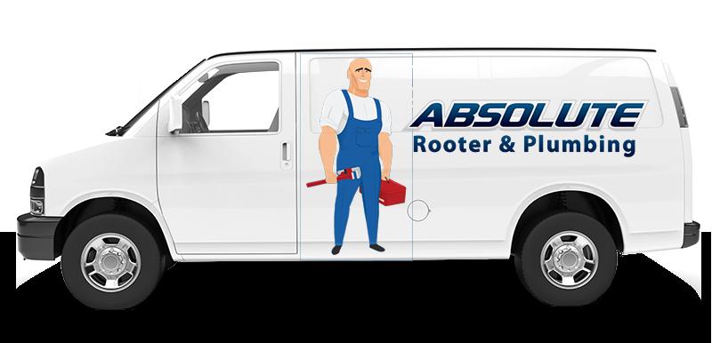 Absolute Rooter & Plumbing Van